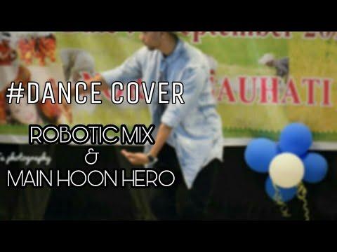 Main hoon hero Robotic mix | #Dance_cover | Ashif(Vicky)