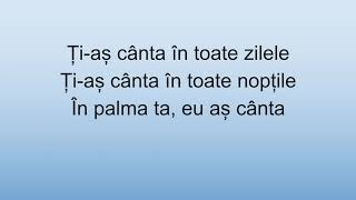 In Palma Ta - Ioana Ignat, Edward Sanda (versuri)