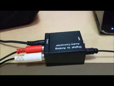 Адаптер за конвертиране на цифров към аналогов аудио сигнал OXA RCA-DT 18225 CA52 9