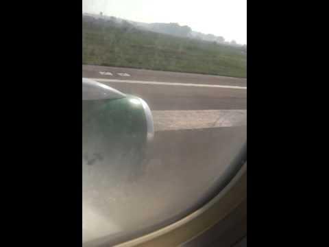 Turkmenistan airlines- Landing in Amritsar