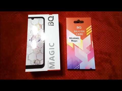 Smartphone BQ 6040L Magic Оригинальный Силиконовый Чехол Накладка Прозрачная