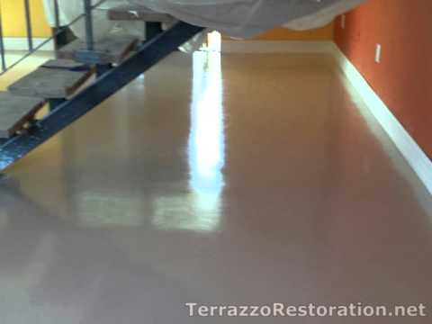 Micro topping concrete floor contractor in miami for Microtopping costi