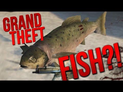 GTA V, FISH EDITION.