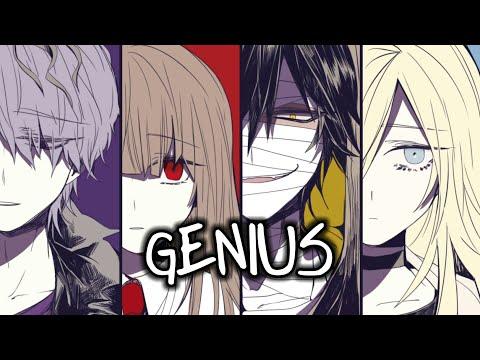 Nightcore - Genius「Switching Vocals」