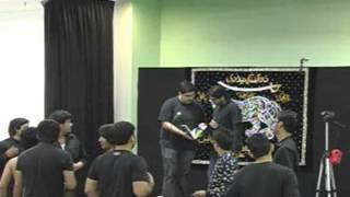 Anjuman Zulfiqar-e-Haidery MD Shab-e-Dari at Idara-e-Jaferia MD USA Part4 12-15-2012 1st Safar 1434
