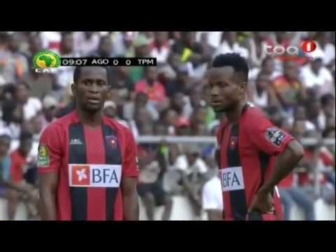 CAF Champions League -- Quartas-finais -- 1º de Agosto vs TP Mazembe -- JOGO COMPLETO -- 1º Mão
