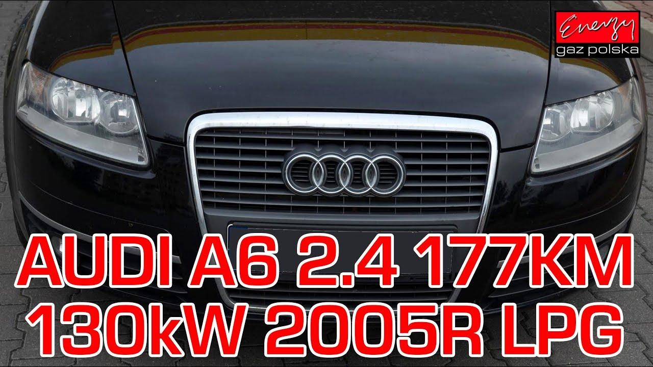 Montaż Lpg Audi A6 C6 Z 24 V6 177km 2005r W Energy Gaz Polska Na