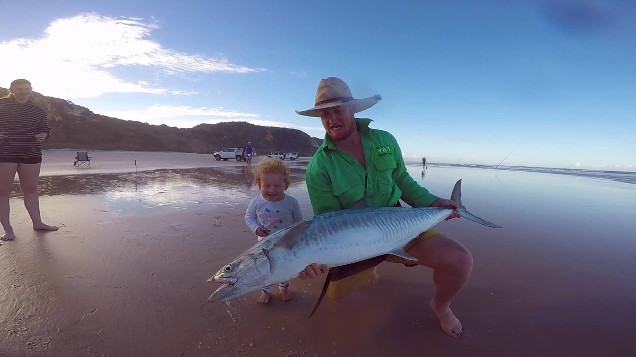 Slide Bait Fishing With Drones Fraser Island Tackle International