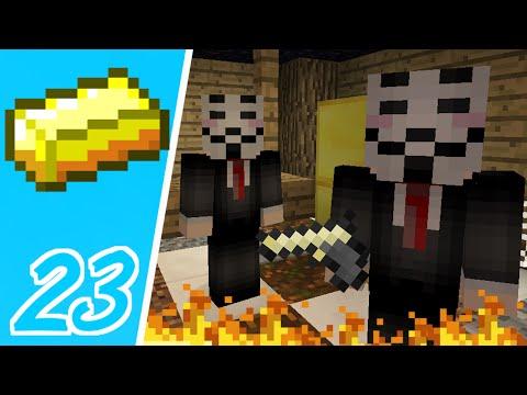 Dansk Minecraft - Pengebyen #23: VI BLEV RØVET!