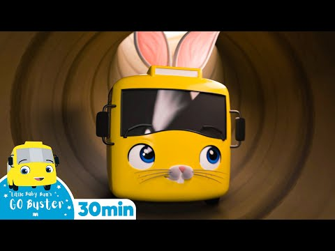 Cantec nou: Easter Egg Hunt Go Buster | Easter Bunny | +More Nursery Rhymes and Baby Songs | Little Baby Bum