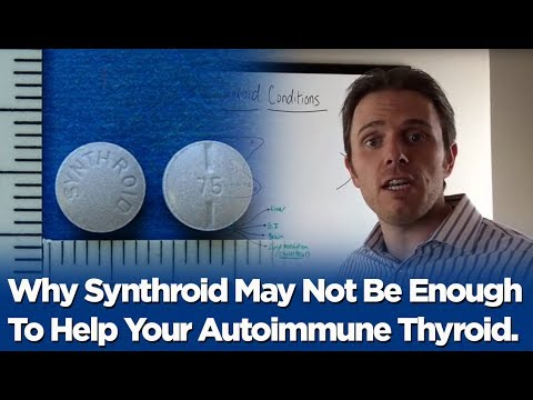 Why Synthroid May Not Be Enough To Help Your Autoimmune Thyroid...