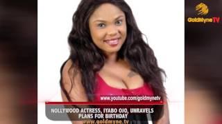 how iyabo ojo celebrated her birthday