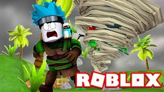 SCAPPO from THE GIGANTE TORNADO on Roblox (Natural Disaster ITA)