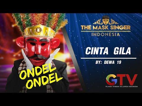 "Siapa Dibalik Topeng? ""Ondel Ondel - Cinta Gila""  THE MASK SINGER INDONESIA #1(2/6) GTV"