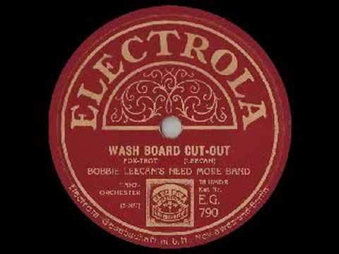 WASHBOARD CUT-OUT 1927 - Bobbie Leecan