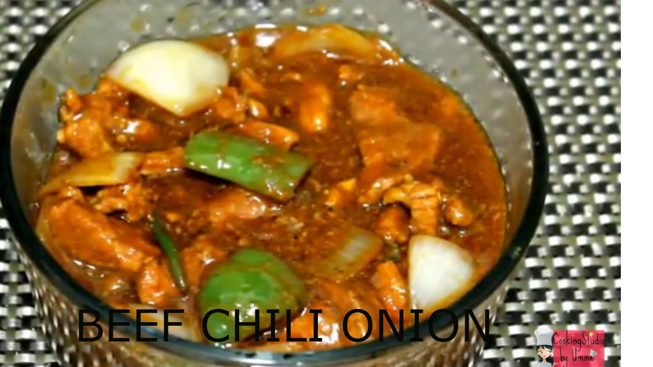 Bangladeshi chinese restaurant recipe beef chili onion youtube forumfinder