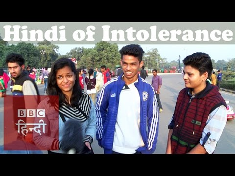 Meaning of Intolerance in Hindi (BBC Hindi)