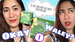 FC Bio Sanitary Pad Panty Liner Review | OKAY ba o WALEY? | VLOG 18