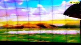 Грандиозная выставка IFA 2013 Огромная стена из телевизоров Cinema 3D от LG на выставке в Берлине.(В Берлине прошла ежегодная выставка