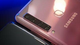 HAPE 4 KAMERA BELAKANG PERTAMA DI DUNIA | Hands-on Samsung Galaxy A9