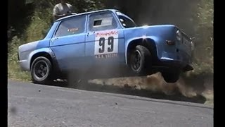 Simca 1000 Rally Car Fails