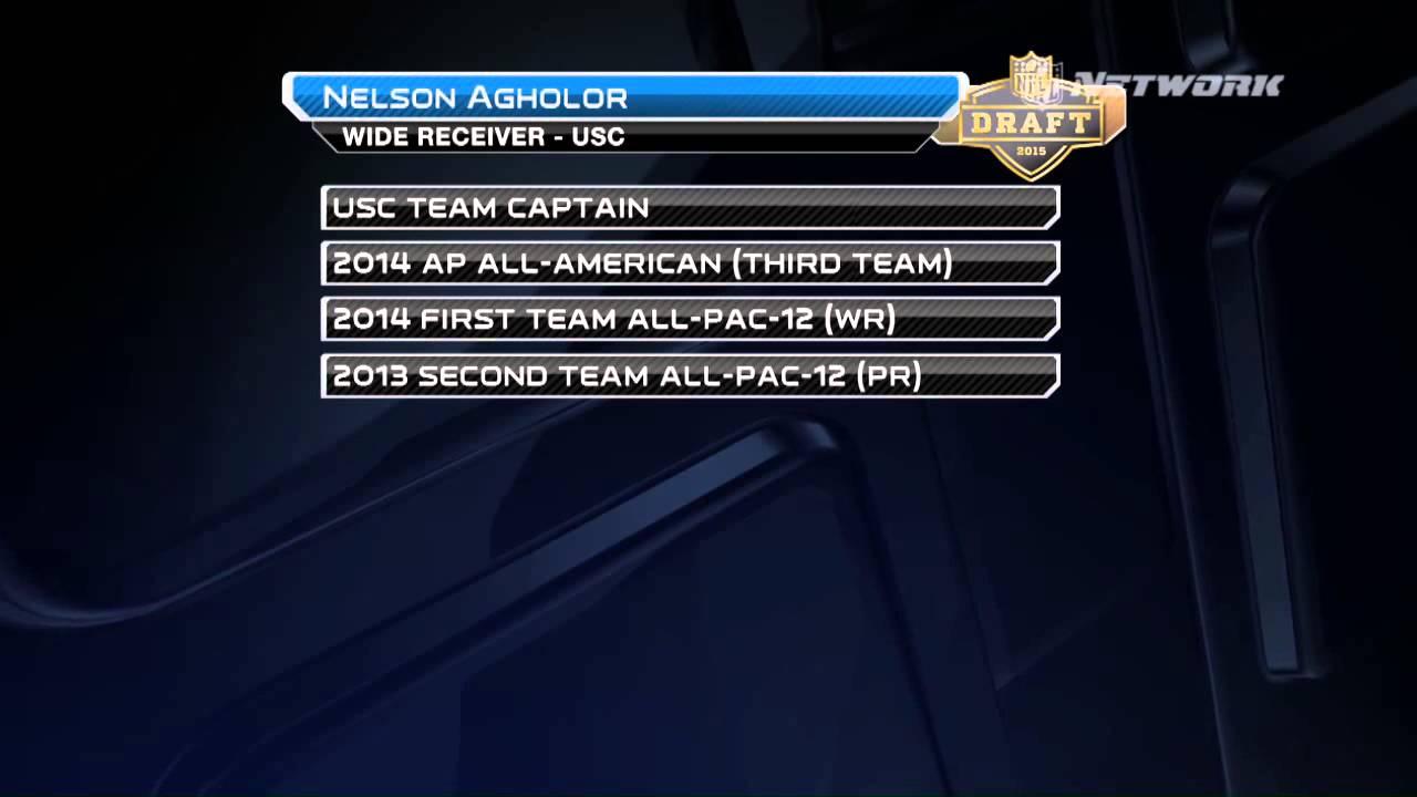 45ceb30e2fe Nelson Agholor highlights: 2015 NFL Draft profile - YouTube