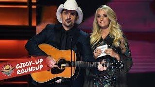 Brad Paisley, Carrie Underwood Return as 2018 CMA Awards Hosts