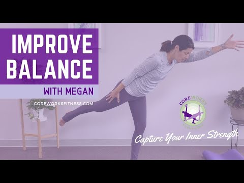 Improve your Balance with this 30 minute Standing Pilates Workout with Megan