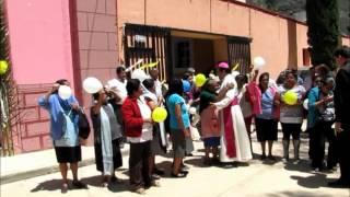 Recepción del Sr. Obispo en Atarjea, Gto.