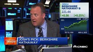 Josh Brown picks Berkshire Hathaway as Last Chance Trade