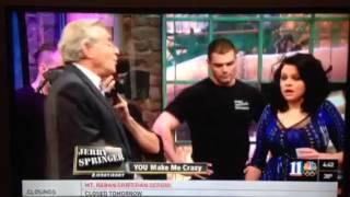 Jerry springer you make me crazy pt1