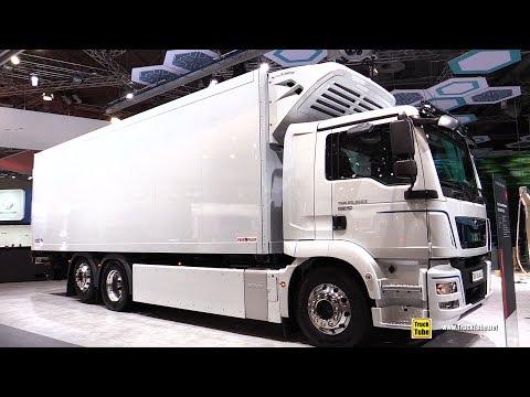 2019 MAN TGM 26-360 E E-truck For Food Transport - Exterior Walkaround - 2018 IAA Hannover