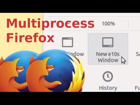 Multiprocess Firefox Electrolysis [e10s]