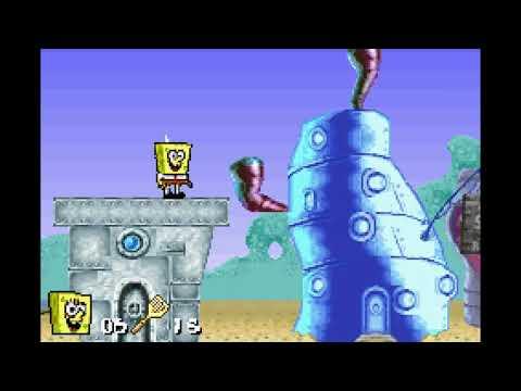 Playin' Spongebob Squarepants: Supersponge (GBA)