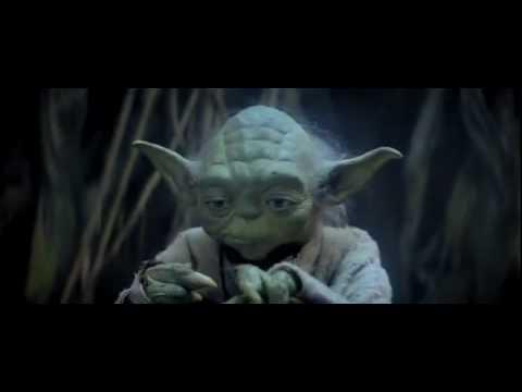 Yoda teaching Skywalker (Faith)
