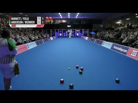 JUST 2018 World Indoor Bowls Championships: Session 25