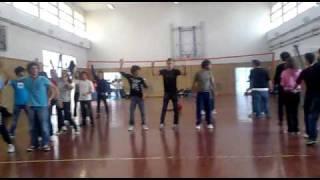 Prove balletto pre-festa liceo scientifico VE 2010