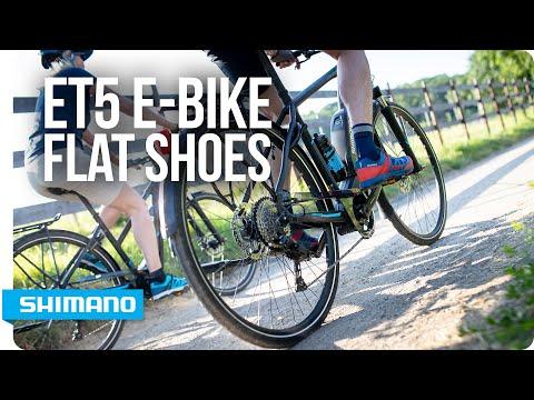 Meet Shimano's ET5 performance-driven E-bike flat shoes | SHIMANO