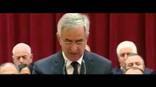 Президент Абхазии Рауль Хаджимба вступил в должность