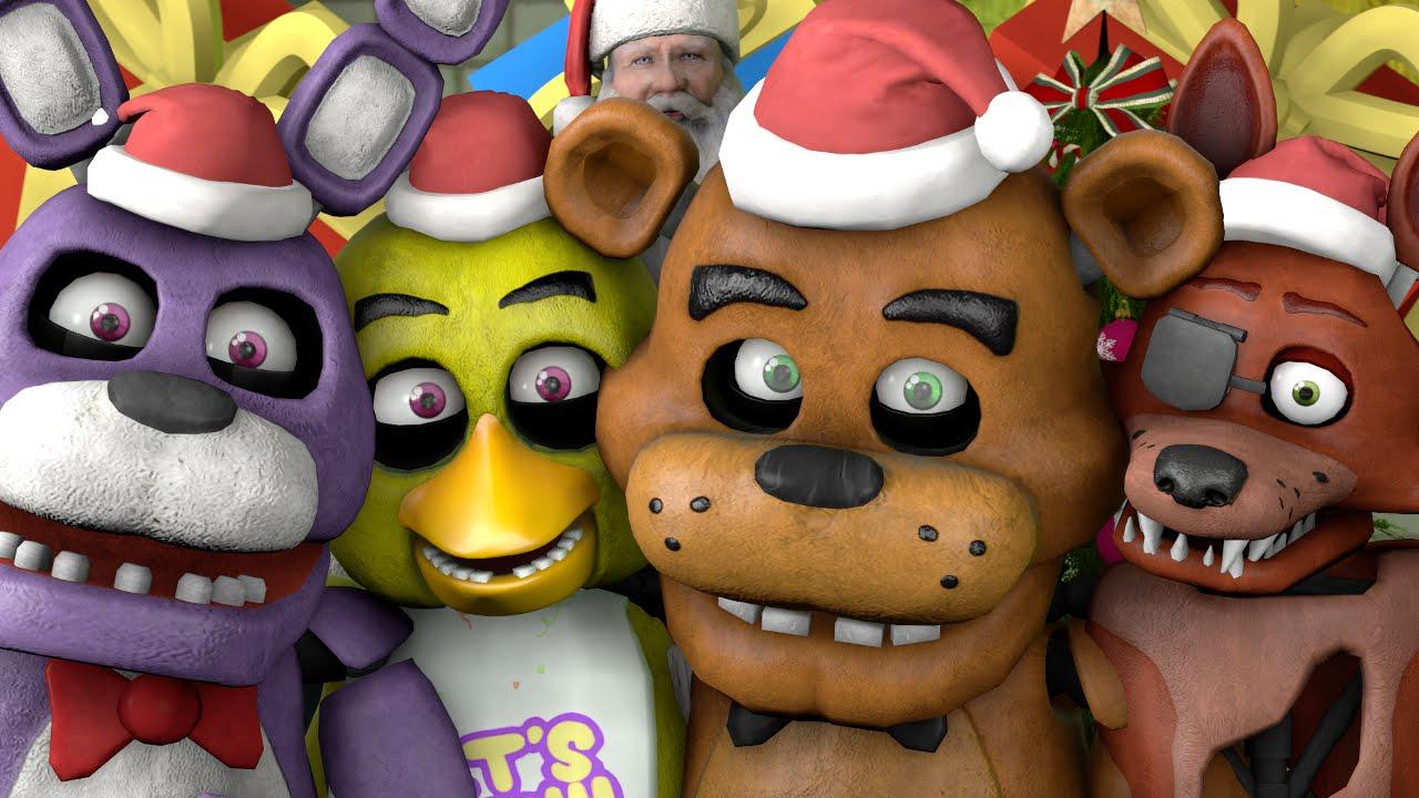 Fnaf Christmas.Sfm Fnaf Christmas Time