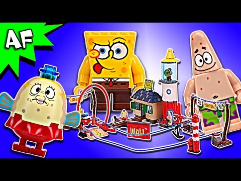 Lego SpongeBob Mrs. PUFF's BOATING SCHOOL 4982 Speed Build