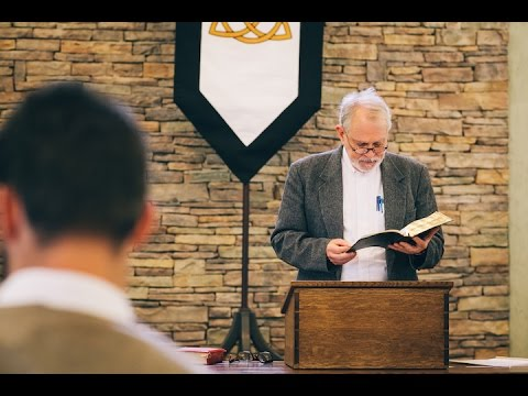 James B. Jordan: Signs, Sacraments, and Death