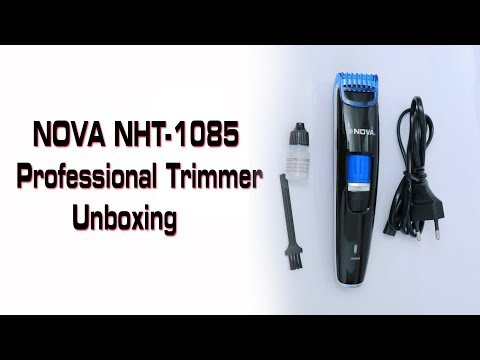 Nova NHT 1085 Trimmer Unboxing in Malayalam