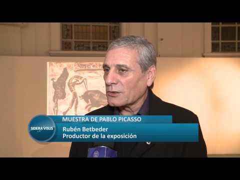 MUESTRA DE PABLO PICASSO   SIDERA VISUS