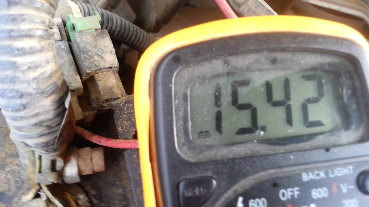 How To Test The Alternator On A 1995 Nissan Pickup Truck 1989 2001 Trucks Pick Up Wiring