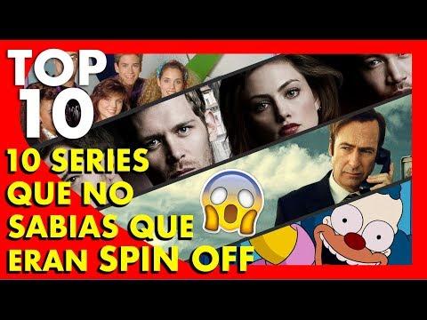 Top 10 Series que no sabías que eran Spin off  - Top Ten #64 |Popcorn News