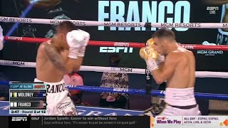 Andrew Moloney vs Joshua Franco (FULL FIGHT 720p) - June 23, 2020