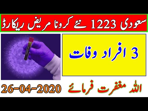 Saudi Arabia Ministry of Health New Report 26 April 2020 | Every Thing Easy