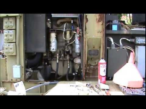 GETTING A SURPLUS MEP-004 GENERATOR RUNNING HOW TO !!!