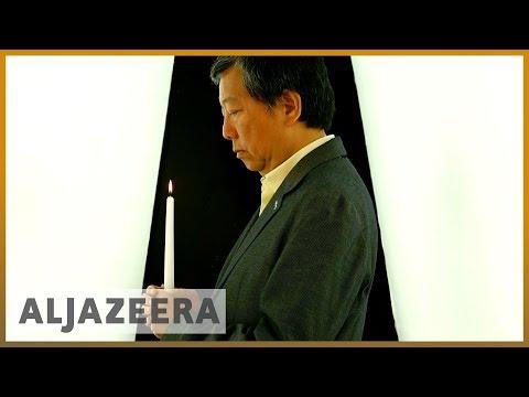 Tiananmen square museum re-opens in Hong Kong